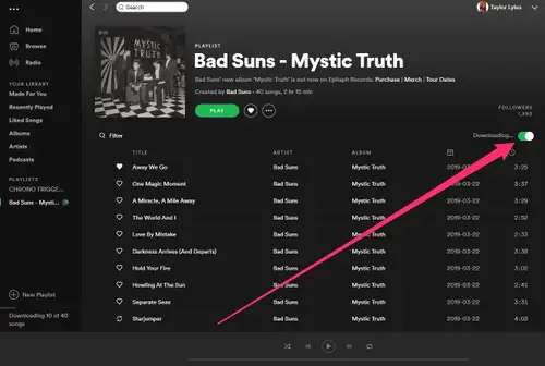 download spotify songs to computer with premium