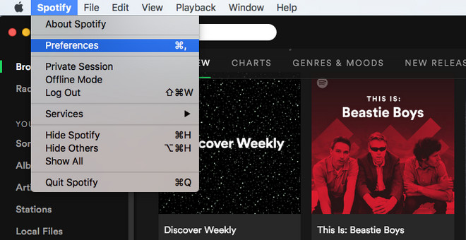 import local music to spotify on mac
