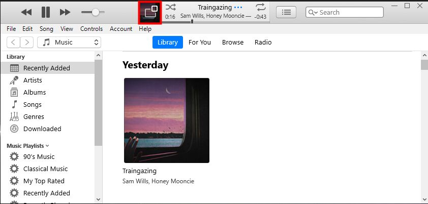 play spotify music on itunes