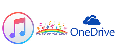 upload apple music songs to onedrive