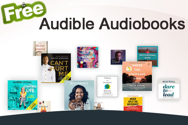 get free Audiobooks from Audible