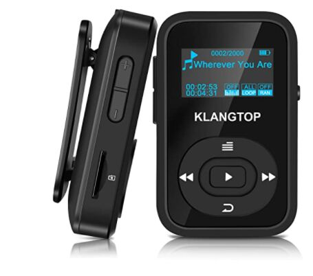 KLANGTOP Digital Clip Music Player