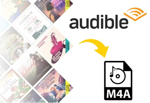 convert audible audiobooks to m4a