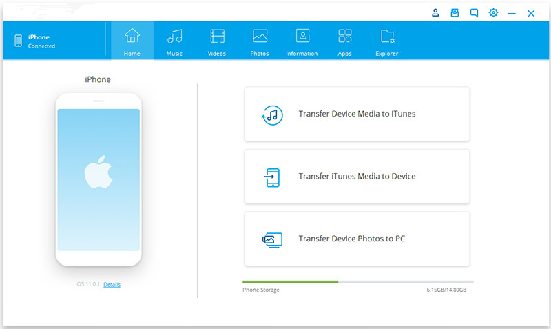 launch iOS & Android Transfer tool