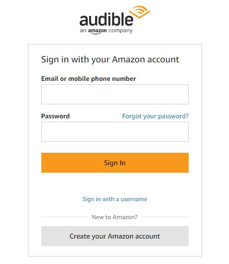 sign in amazon account