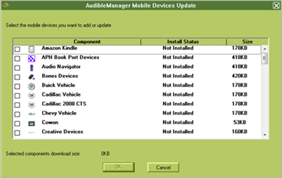 Add-device-to-Audible-manager