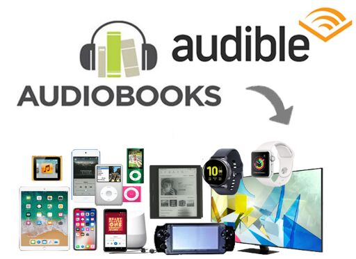 listen to Audible books on any devices