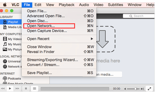 play spotify music on vlc player on mac
