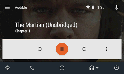 android auto audible