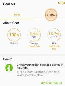 android audible to gear app