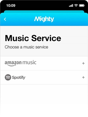 play Spotify music on mighty