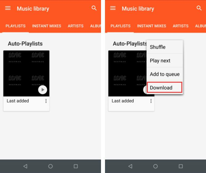 download music from google play music